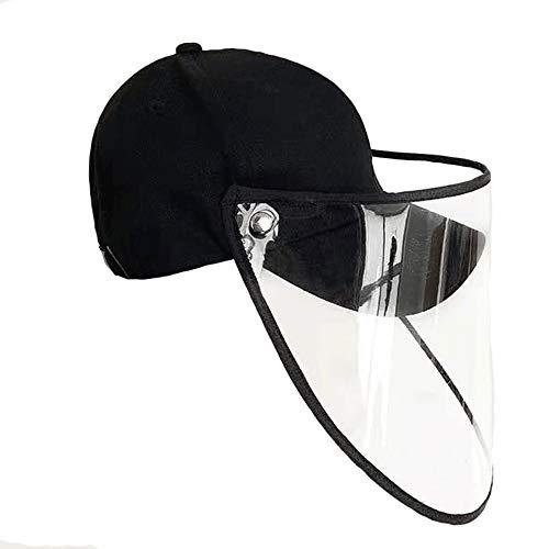 Mannen En Vrouwen Beschermende Hoeden, Anti-Foam Baseball Caps, Fashion & Leisure Youth Sunscreen Caps (2 Packs)