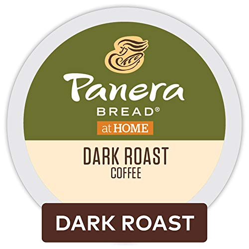 Panera Bread Dark Roast Coffee, Single-Serve Keurig K-Cup Pods, 100% Arabica Coffee, 72 Count