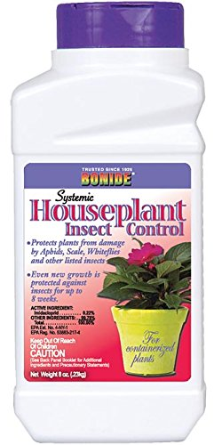 Bonide Systemic House Plant Insect Control Multiple Insects Granules 8 Oz, Pack of 4