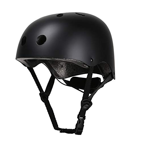HYL Casco Bicicleta Casco para Bicicleta Casco de bicicleta Utilizado para proteger la cabeza Tamaño ajustable Medio casco universal de cuatro estaciones Adecuado para andar en monopatín y escalar roc