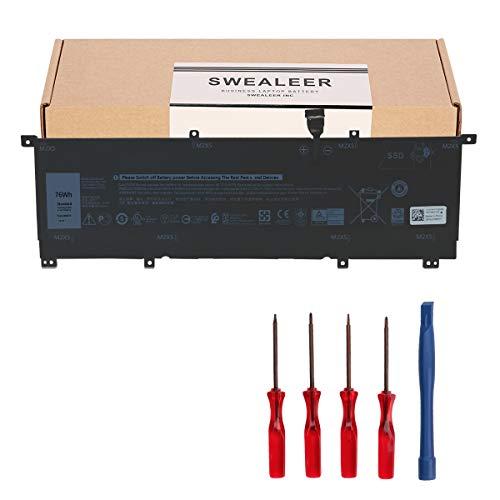 K KYUER 75Wh 8N0T7 Laptop Batteria per Dell Precision 5530 i7-8706G 2-in-1 Workstation XPS 15 9575 P73F001 15-9575-D1805TS D1605TS D2801TS D2605TS i5-8305G i7-8705G Notebook P73F 8NOT7 TMFYT 0TMFYT