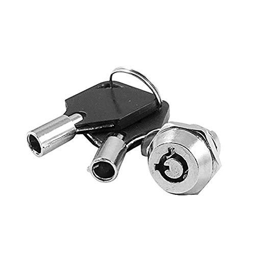 Cilindro de la cerradura 1 Set Buzón de buzón Cajas Cajas de bloqueo de gabinetes de alta calidad Cinta tubulares de cilindros de cilindros-_M18-20mm