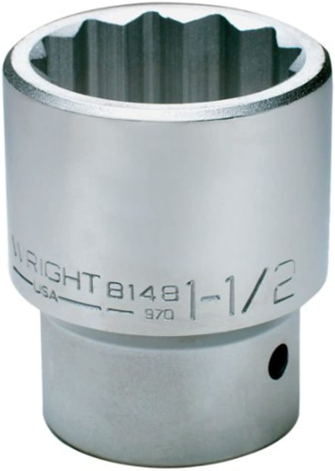 Wright Tool 8162 1-15 16-Inch with 1-Inch 1-Inch 1-Inch Drive 12 Point Standard Socket by Wright Tool B0186MBZ48 | Elegante Form  f1aff6