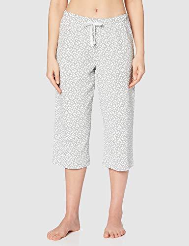 Iris & Lilly ASW-056 Pantalones de Pijama, Multicolor (Daisy/Pink), 40, Pack de 2