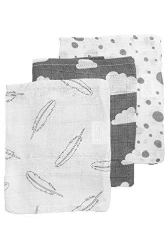 Meyco 458002 Hydrofiele washandjes 3-pack