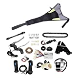 SM SunniMix 250W 24V Kit De Conversión De Bicicleta Eléctrica Refit Motor Controlador Trasero DIY Hub Set
