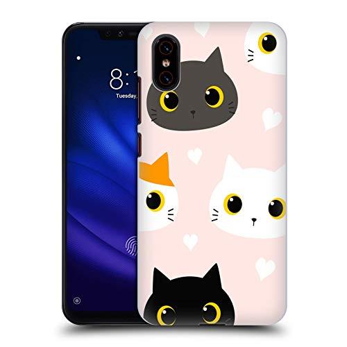 Head Case Designs Oficial Haroulita Adorable Gatos Y Perros Carcasa rígida Compatible con Xiaomi Mi 8 Pro