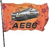 Viplili Flagge/Fahne, AE86-JDM-Drifting Flag 3x5 FT Garden Flag Tough The Strongest, Longest Lasting Flag National Flag Outdoor Flags
