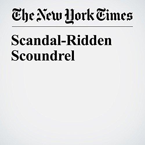 Scandal-Ridden Scoundrel copertina
