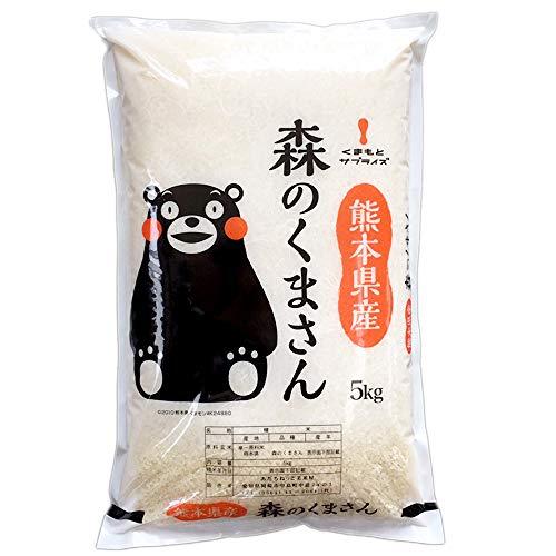 【精米】新米 熊本県 白米 森のくまさん 5kg 令和2年産