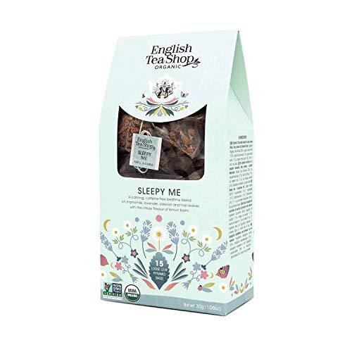 English Tea Shop Organic Sleepy Me Loose Leaf - 15 Loose leaf pyramid tea...