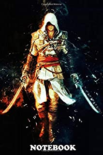 Notebook: The Ezio Collection Black Flag Freed Assassins Creed , Journal for Writing, College Ruled Size 6