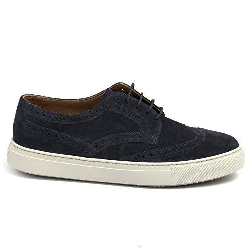 Fratelli Rossetti Sneakers Hobo Sport Blu in Suede - 45815 York Marine...