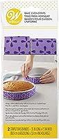 Wilton Bake-Even Cake Strips for Evenly Baked Cakes, 2-Piece/ウィルトン ベイク イーブン ケーキ ストリップ 2本 [並行輸入品]