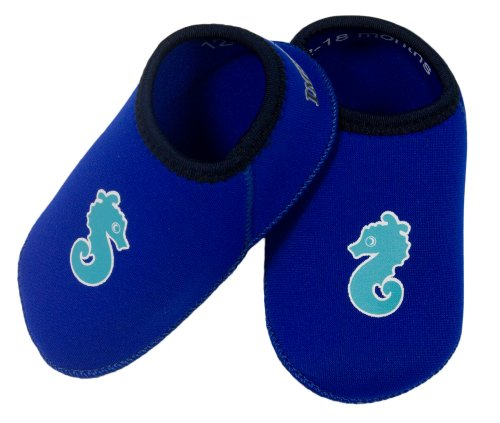 ImseVimse Supersoft Neopren Badeschuhe Baby Badeschuhe blau / Gr. 21-23 (12-18 Monate)