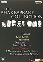 The Shakespeare Collection - Slimcase box: Hamlet King Lear Macbeth Othello Romeo & Juliet Julius Caesar A Midsummernight's Dream  Much Ado About Nothing