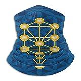 Miedhki Ägyptisches, spirituelles Symbol über der Blume des Lebens