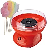 Trendi Cotton Candy Floss Maker Machine Retro New Premium Release, Red, 30cm x