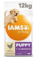 Puppy food for large breeds with up to 85 percent of animal protein to support seven signs of healthy vitality Wheat free pet food with no fillers, artificial colours, flavours or GMOs Antioxidant blend with Vitamin E to help support the immune syste...