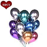Luftballons Metallic Bunt