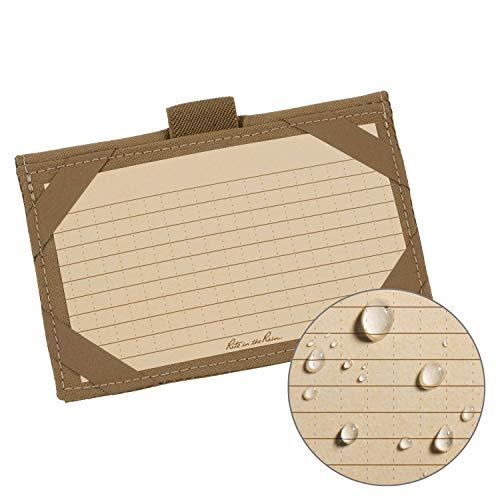Rite in the Rain - Porte cartes de grande résistance : Housse en tissu Cordura, 257,6 cmx 12,7cm (C991T) peau