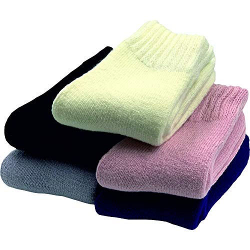 GAWILO 5 Paar mollig warme Damen Socken | weicher und flauschiger Garnmix | angenehme Fußwärme | ideal bei kalten Füßen (35-38, Mix)