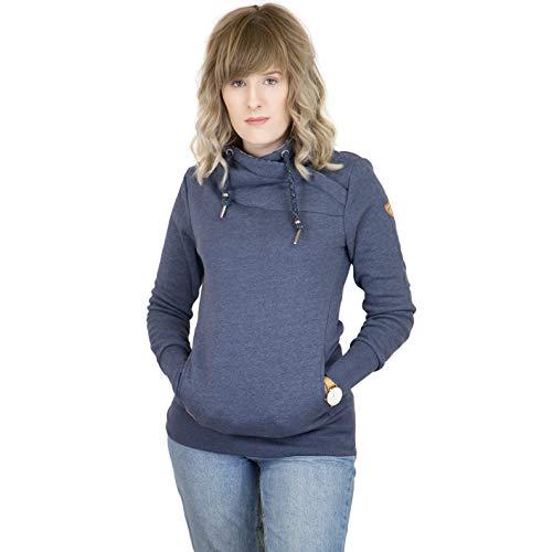 Ragwear Sweater dames NESKA 1821-30074 donkerblauw navy 2028