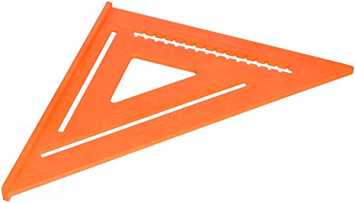 IRWIN Tools Rafter Square, Hi-Vis, 12-Inch (1794467)