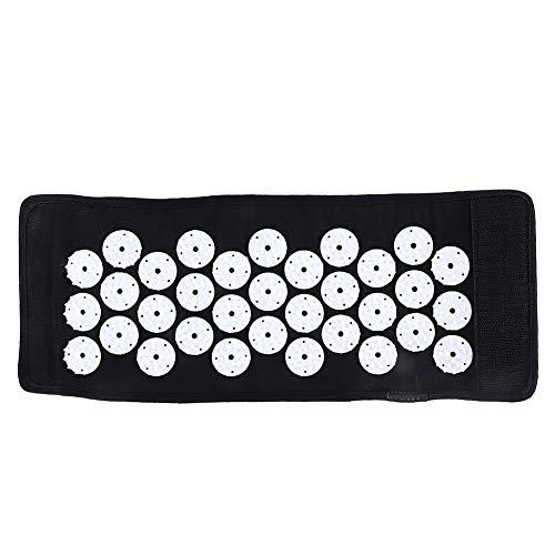 Correa de brazo de masaje, cinturón de brazo de alivio del dolor tela de algodón + ABS + esponja negro resistente para hombres para mujeres para ejercicio diario para yoga