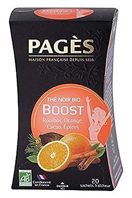 PAGÈS Thé Noir Boost Bio 36 g parent