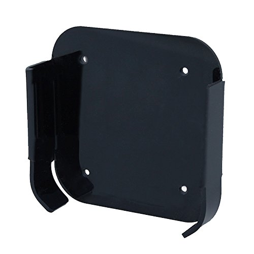 Materiale: policarbonato nero (100% riciclabile) ,size: 10*11cm incl. viti tasselli UDN per il montaggio a parete incl. nastro adesivo per il fissaggio al televisore (LED, TV LCD) o su mobili TV. Compatibile con Apple TV 2, 4 e Apple AirPort Express ...