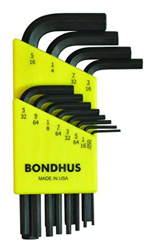 Bondhus 12236 Winkelschlüssel-Satz Sechskant HLX12S (Inch) 12-teilig