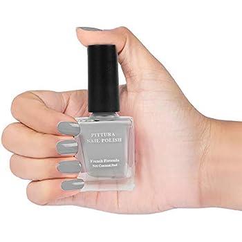 MINISO Pittura Nail Polishes Long Lasting Nail Paint (05 Grey)