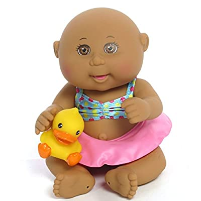 Cabbage Patch Kids Tiny Newborn Splash 'n Fun (Ethnic, Brown Eyes)