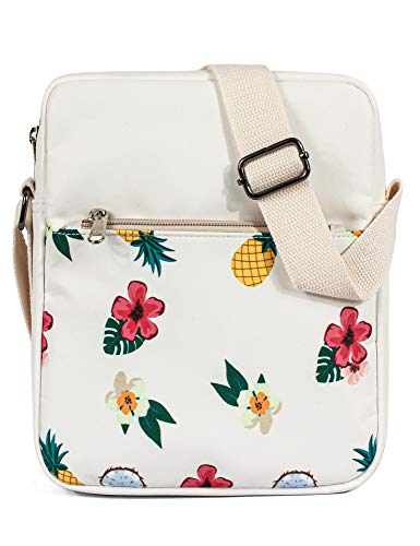 Leaper Cute Pineapple Messenger Bag Crossbody Bags Purse Travel Shoulder Bag