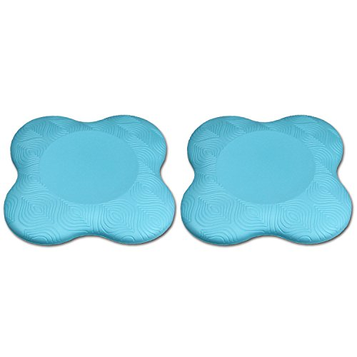 Sunspeed Yoga Knee Pad, Support for Knees, Wrists, Hands and Elbows, Suitable for Yoga, Pilates and More - 2 Pieces (Blue)