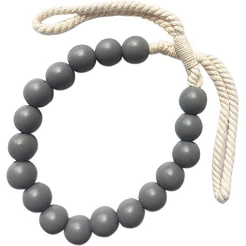 Kalaokei Fashion Bandage Wooden Beads Curtain Tieback Holdback Home Drape...