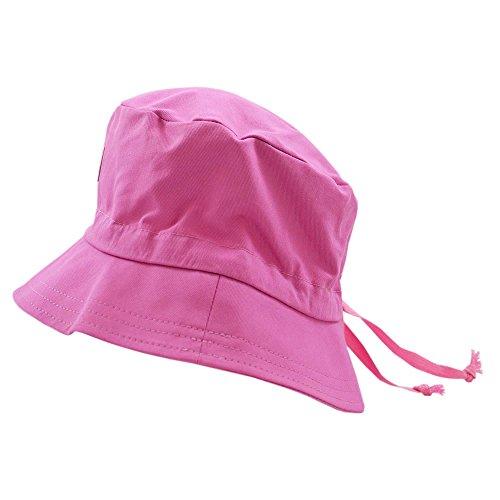 PICKAPOOH Fischerhut mit UV-Schutz Baumwolle, Malve Gr. 56