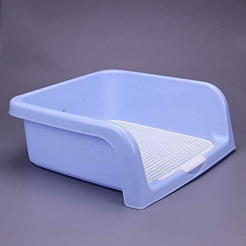 Axiba Huisdier toilet Hoog hek type hond toilet kat toilet urine wastafel gemakkelijk te wassen, 50x40x20cm, B