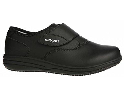Oxypas Medilogic Emily Slip-resistant, Antistatic Nursing Shoe, Black (Blk), 5.5 UK (39 EU)
