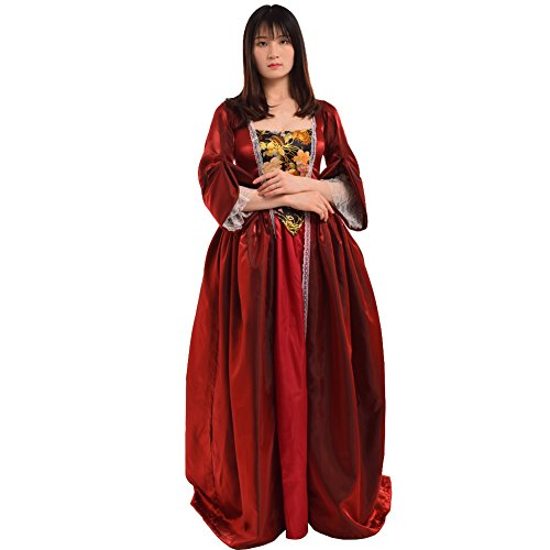 BLESSUME Vintage viktorianischen Barock Kleid vermisst kolonialen Rokoko Jahrhundert...