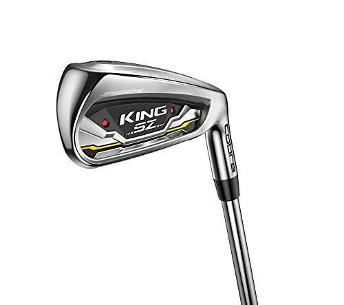 Product Image 1: Cobra Golf 2020 Speedzone Iron Set (Men's, Right Hand, KBS Tour 90, Reg Flex, 5-GW)