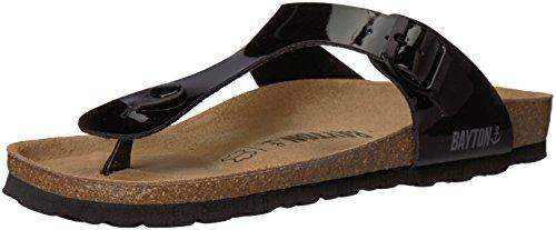 Bayton Damen MERCURE Sandale, schwarz, 37 EU