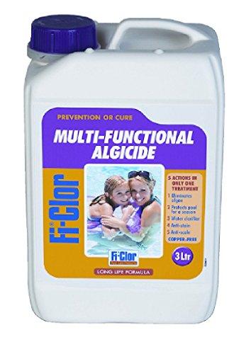 Fi-clor Swimming Pool Multi-Fuctional Algicide 3ltr - Copper free