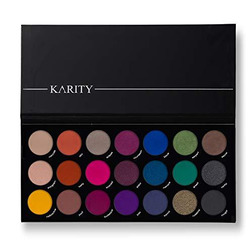 21 Highly Pigmented Professional Eyeshadow Palette Eye Shadow Makeup Kit Set Pro...
