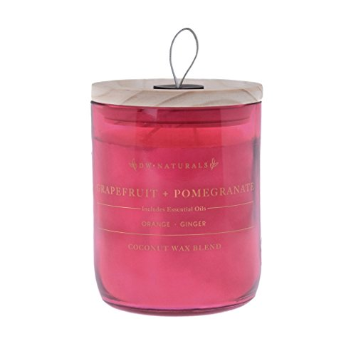 DW Home Naturals Grapefruit + Pomegranate 2-Wick Candle 17.67oz In Glass