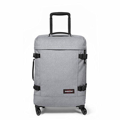 Eastpak Trans4 S Suitcase, 54 cm, 44 L, Grey (Sunday Grey)
