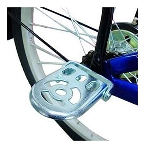 JINSUO Moonlight Star Bike Pedals-1 Pair Collapsible Bike Bicycle Real Pedal Foot Stand Road Mountain Bike Pedal Thicker Type Children Foot Pedal Bicycle Parts (Color : Silver)