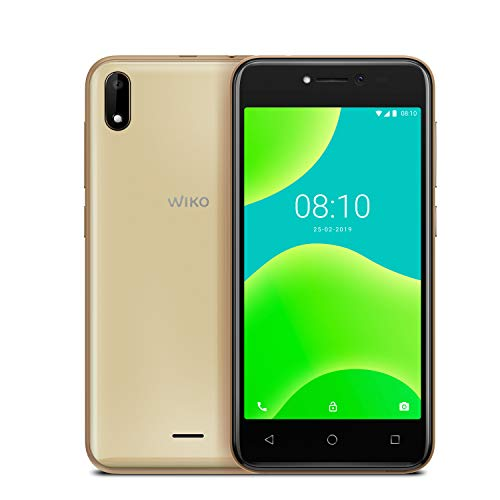 petit un compact Smartphone débloqué Wiko Y50 3G + (Écran: 5 pouces – 8 Go – Micro Sim + Nano Sim – Emplacement…