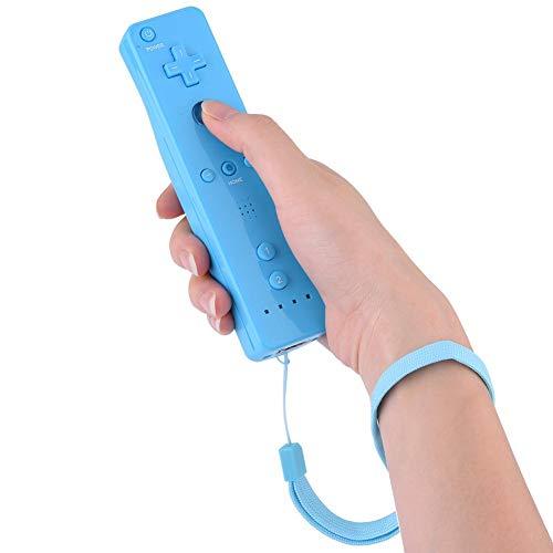 Sorand Remote Controller Gamepad Controller di Gioco per Console Nintendo WiiU/Wii con Joystick Analogico con Custodia in Silicone(Blu)